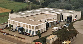 1996 - Extension of the company's premises in Grüna