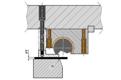 Rotationsbieger Anwendung Kurzschenkelbiegen 1